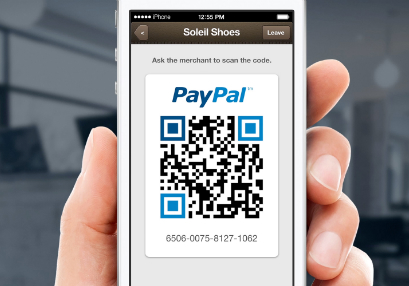 Paypal QR Code Mobile Payment System