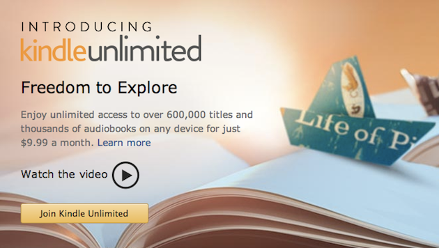 Amazon Testing All-You-Can-Eat EBooks